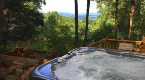 Soak In A Hot Tub Surrounded By Natural Beauty At These 5 Cabins In Virginia