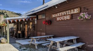 The Historic Marysville House Restaurant In Montana Has One Of The Most Unique Backstories You'll Ever Hear