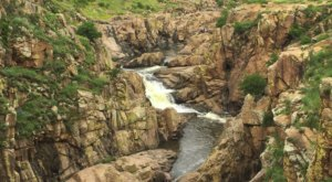 The Gorgeous 1.5-Mile Hike In Oklahoma's Wichita Mountains That Will Lead You Past A Waterfall And River
