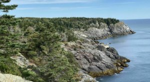 Circle The Entirety Of Monhegan Island On This 4.4-Mile Loop Trail With Incredible Craggy Views
