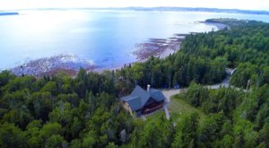 There's No Better Place To Unwind Than The Beachfront Bear Run Cabin By The Sea In Downeast Maine