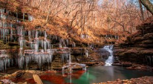 Escape To Paradise Falls For A Beautiful Arkansas Nature Scene