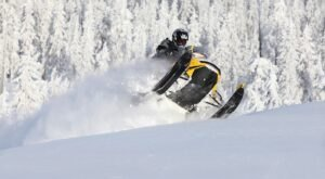 Hit The Trails Near Pinedale, Wyoming For The Best Snowmobiling In The Country
