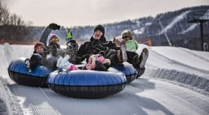 Tackle A 650-Foot Snow Tubing Hill At Windham Mountain In New York This Year