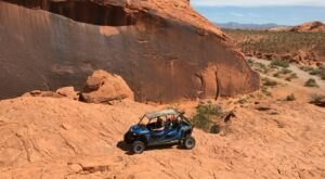 Rent A UTV In Nevada And Go Off-Roading Through The Fiery Red Mountains And Sand Dunes Of Moapa Valley