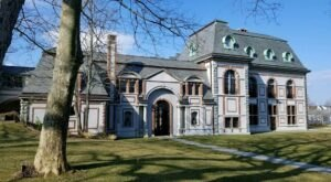 One Of The Most Haunted Mansions In Rhode Island, Belcourt Castle, Has Been Around Since 1891