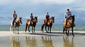 Visit The Beaches Of Cape San Blas By Horseback On This Unique Tour In Florida
