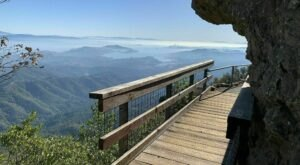 There Are Endless Scenic Views Along The Trail At Mount Tamalpais State Park In Northern California