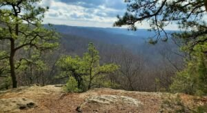 Hike To Jacob's Ladder At Christmas Rocks State Nature Preserve In Ohio For Spectacualr Views