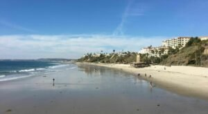 Spend A Day In The Sun At One Of The Most Stunning Beaches In Southern California, San Clemente State Beach