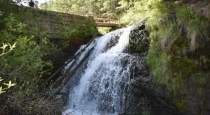 This Easy, 2.5-Mile Trail Leads To Webster's Dam, One Of Idaho's Most Underrated Waterfalls