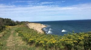Take In Some Of The Best Views Of Block Island On The Clay Head Trail In Rhode Island