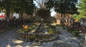 Kentucky's Rock Garden And Grotto, The Grotto and Garden of Our Lady of Lourdes Is A Work Of Art