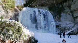 The Frozen Waterfalls At Pisgah National Forest In North Carolina Are A Must-See This Winter