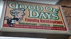 Good Ol' Days Restaurant Serves Up Home-Cooked Meals That Rival Your Grandma's In Illinois