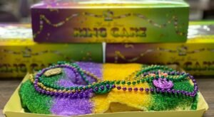 The Epic King Cake Trail In Louisiana You've Been Waiting For