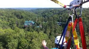 Take A Ride On The Longest Zipline In Georgia At Historic Banning Mills