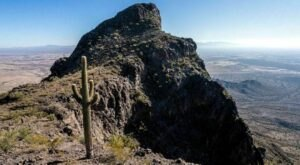 Hike The Challenging Hunter Trail To Enjoy Some Of Arizona's Most Striking Mountain Vistas