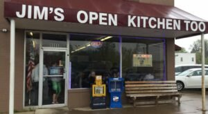 Enjoy Breakfast All Day, Hand Pressed Brugers, And More At Jim's Open Kitchen Too In Small Town Ohio