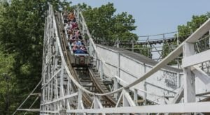You'll Want To Ride The One Of A Kind Wooden Roller Coasters Found At Camden Park In West Virginia