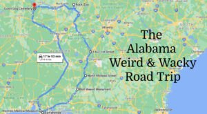 Discover 7 Of Alabama's Weirdest And Wackiest Places On This Road Trip