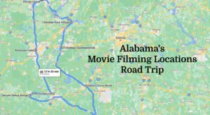 Take This Road Trip To See Some Of The Most Famous Film Locations In Alabama