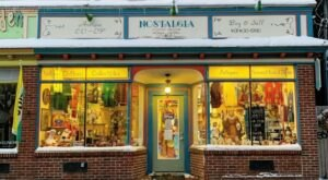 Nostalgia Is A Three-Story Thrift Shop In Rhode Island That's Almost Too Good To Be True