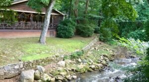 Enjoy A Family Style Meal Next To A Cascading Mountain River At Caro-Mi Dining Room In North Carolina