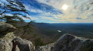 Experience Some Of Alabama's Most Breathtaking Views While Hiking The Scenic Rock Garden Trail