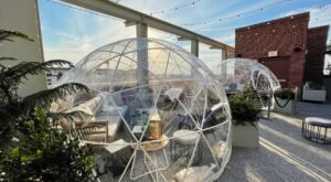 Sip Wine In An Igloo This Winter At The Lost Square In Georgia
