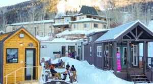 Powderhorn Mountain Resort In Colorado Is Now Offering A Tiny Home Community For Skiers
