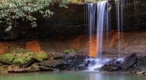 Take A Magical Waterfall Hike In Kentucky To Amos Falls, If You Can Find It