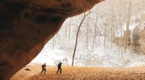 Walk To Sand Cave, A Top Hidden Gem In The Country, From This Cozy Cottage In Kentucky