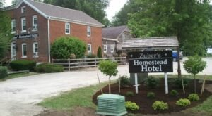 The Coolest Little Hotel In Iowa, Zuber's Homestead Hotel, Is Calling Your Name