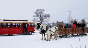 Wisconsin's Winter Wine Tour And Sleigh Ride Is The Perfect Cold-Weather Adventure