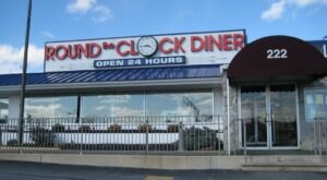 A Classic 24-Hour Eatery, Round The Clock Diner In Pennsylvania Oozes Old-School Charm