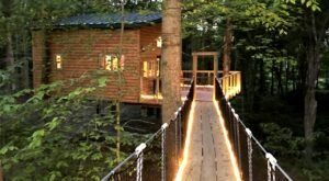 Among The Trees Lodging In Ohio Is The Treehouse Getaway Adults Will Love