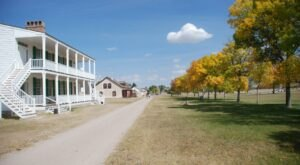 Fort Laramie In Wyoming Was Once The Largest Military Outpost In The Region And It's So Worth A Visit Today
