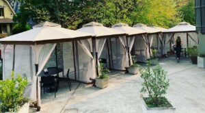 Dine In The Warm, Heated Cabanas At OK Omens In Oregon All Winter Long