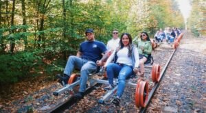 Pedal Through A Nature Preserve In New Jersey On A Converted Rail Trail