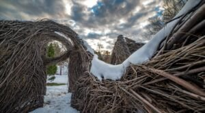 Pop-Up Art Exhibits At The Holden Arboretum Outside Of Cleveland Add A Dash Of Whimsy To Any Hike