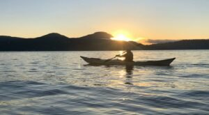 Take A Unique Sunset Kayak Tour Through The Illuminated Waters Of Washington
