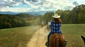 The Horseback Tours Of The Smoky Mountains At Jayell Horse Ranch In Tennessee Are Sure To Wow The Whole Family