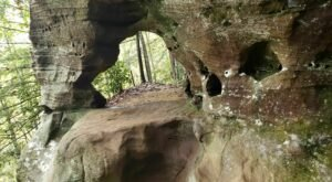 Hike A Scenic Two Miles Along The Hidden Arch Trail In Kentucky