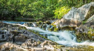 Take A Magical Waterfall Hike In Wisconsin To Horseshoe Falls, If You Can Find It