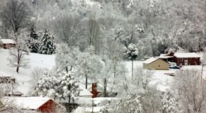 This One Strange Thing Happens Anytime There's Fresh Snow In West Virginia