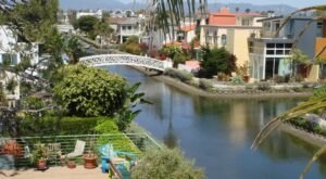 Whisk Yourself Away To The Venice Canals Right In Southern California