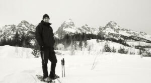 A Scenic Snowshoe Hike Around Wyoming's Taggart Lake Is Bucket-List Worthy