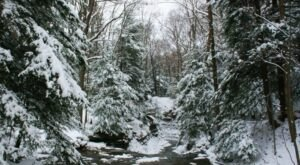 The Hemlock Loop Trail At Bedford Reservation Leads To A Winter Wonderland This Time Of Year In Ohio