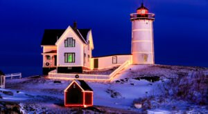 Most Mainers Don't Know That The Quintessential Nubble Lighthouse Was Sent To Space…Sort Of